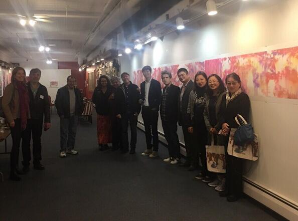 王清州个展(纽约·2018)隆重开幕